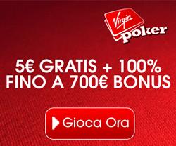 5 Euro gratis senza deposito